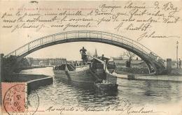 TOULOUSE LA PASSERELLE NEGRENEYS LES CANAUX TOULOUSAINS - Toulouse