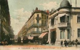 TOULOUSE RUE ALSACE ET COMPTPOIR DE L'ESCOMPTE - Toulouse