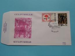 CULTURELLE KULTURELE ( F.D.C. P. 504 ) HOUTHALEN 19-3-1977 ( Zie Foto ) ! - FDC