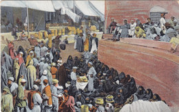 Iraq POST CARD,Butter Milk Market,Baghdad, Not Writen, Hasso Bros Publ. Fine Condition- Scarce - Iraq