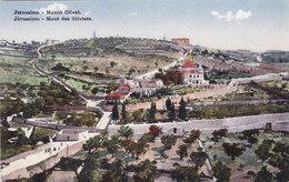 Palestine , Post Card, Jerusalem Mount Olivet, Not Writen, Sarrafian Bros- Fine Condition- Scarce - Palestine