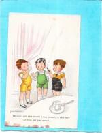ILLUSTRATEUR  JEANCHEVAL - Trois Enfants Parlant Comme Des Hommes!!!   - ENCH0616 - - Cheval