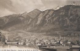 SAINT-MAURICE → Ansicht Vom Bahnhof Mit Dem Dent De Morcles, Ca.1910 - VS Valais