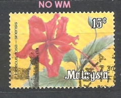 MALESIA    1983 Flowers - As Previous, Not Watermarked  USED - Malesia (1964-...)