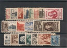 FRANCE  1947 N° Y&T : 772/792** Côte : 36,00 € - 1940-1949