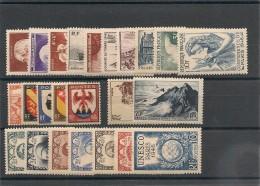 FRANCE  1946 N° Y&T : 748/771** Côte : 26,00 € - 1940-1949