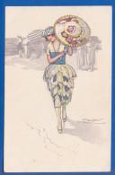 Malerei; Mauzan L.A.; Frau - Mauzan, L.A.