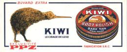 Buvard KIWI    Cirage De Luxe PPZ             Superbe ! - Produits Ménagers