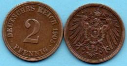 R7/ EMPIRE ALLEMAND /  GERMANY EMPIRE 2 Pfennig 1905 A - 2 Pfennig