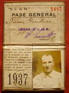 URUGUAY 1937 - MONTEVIDEO SOCIETE COMMERCIALE - SOCIEDAD COMERCIAL DE MONTEVIDEO - Zonder Classificatie