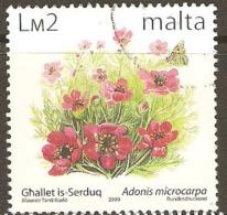 Malta 1999 SG 1151 Lm2, Adonis Microcarpa Fine Used - Malte