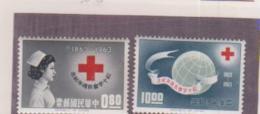 CHINA: ROC: 1963, Red Cross. MNH Set Of 2.  CV £ 13.50 - Ungebraucht