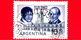 ARGENTINA - Usato - 1960 - Juan Larrea Et Domingo Matheu - 10.70 - Argentina