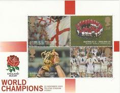 ANGLETERRE 2003 - Coupe Du Monde De Rugby - Champions Du Monde - Rugby