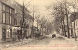 Cpa 82 Septfonds Tran Et Garonne La Route De La Caussade - France