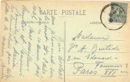 ALSACE-LORRAINE BAS-RHIN : TàD BARR Du 16-8-19 RÉTABLISSEMENT DE LA POSTE FRANÇAISE - Marcophilie (Lettres)