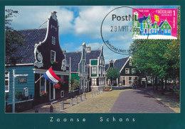 D26419 CARTE MAXIMUM CARD FD 2016 NETHERLANDS - ZAANSE SCHANS ZAANDAM - POSTCROSSING CP ORIGINAL - Architecture