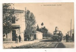 GALLARGUES GARD LA GARE CPA587 - Gallargues-le-Montueux