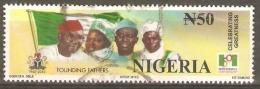Nigeria 2010 SG 878 N50 Founding Fathers Fine Used - Nigeria (1961-...)