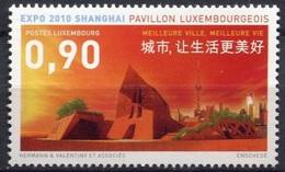 2010 - LUSSEMBURGO / LUXEMBOURG - EXPO SHANGAI. MNH