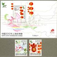 2010 - MACAO / MACAU - EXPO SHANGAI. MNH