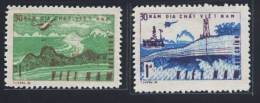 Vietnam Viet Nam MNH Perf Stamps 1985 : 30th Anniversary Of Vietnamese Geological Branch / Helicopter / Oil Rig (Ms476) - Vietnam