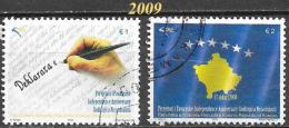 Kosovo - 1er Anniversaire Indépendance - Y&T N° 30 / 31 - Oblitérés  - Lot 19 - Kosovo
