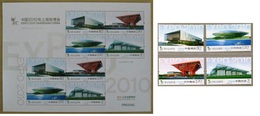 2010 - CINA / CHINA - EXPO SHANGAI - PADIGLIONI EXPO  / EXPO STADIUMS. MNH