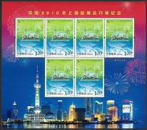 2010 - CINA / CHINA - EXPO SHANGAI - APERTURA DI WORLD EXPO / OPENING OF WORLD EXPO. MNH