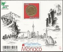 2010 - MONACO - EXPO SHANGAI. MNH