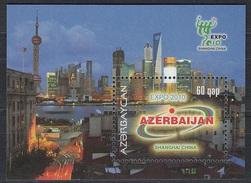 2010 - AZERBAIJAN - EXPO SHANGAI. MNH
