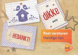 """Nederland - Postnl- Reclamefolder - Informatie """"Post Versturen""""  - 2015 - Propaganda"""