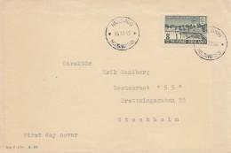 Finnland: 1945: Helsinki Nach Stockholm - FDC - Sin Clasificación