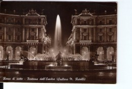 N3059 Cartolina Di Roma, Piazza Dell' Esedra, Notturno Nuit Nocturne _ VIAG. 1950 _ Ed. Verdesi - Places & Squares