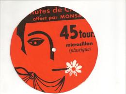 45 Tours Publicitaire Milord De Georges Moustaki Offert Par MONSAVON - Ediciones Limitadas