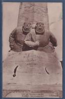 Carte Postale Monument Nungesser Et Coli à Etretat Architecte Louis Rey Sculpteurs Descatoire Et Petit Timbre 237 - Aviateurs