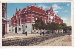 #6402 Poland, Jaroslaw Postcard Military Mailed 1916: Detail, Gmach Sokola - Poland