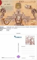 Spain 2016 - 300 Años De Correos En España Postal Stationery Mnh