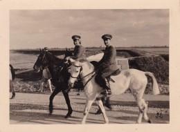 PORDENONE  - UDINE - SOLDATI A CAVALLO - FOTO DEL 1943 - FOTOGRAFO SEVERA - Lieux