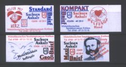 Deutschland KSS Köthen 'Sanitätsmuseum Köthen, Henry Dunant' / Germany 'Museum Of Paramedics, Henry Dunant' **/MNH 2015