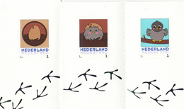 Nederland 2016 Persoonlijke Zegel PostNL: Geboorte Van Een Postduif;carrier Pigeon,  Zie Scan; 10 Stamps, Mint - Neufs