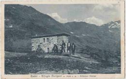 Rabbi , Trentino. Rifugio Dorigoni. Altiplano Sternal. Refuge Dorigoni. CPA Animée Rare. Cartolina Animata. 2 Scans - Italia