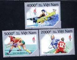 Vietnam Viet Nam MNH Perf Stamps 1996 : Sport / Summer Olympic In USA / Field Hockey / Sailing / Woman Football (Ms736) - Vietnam