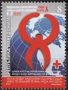 2011 - MACEDONIA - LOTTA ALL´AIDS / STRUGGLE AGAINST SIDA. MNH - Ziekte