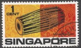 Singapore. 1968-73 Definitives. 1c Used. SG 101 - Singapore (1959-...)