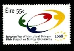 2008 - IRLANDA / IRELAND - ANNO EUROPEO DEL DIALOGO INTERCULTURALE / EUROPEAN YEAR OF INTERCULTURAL DIALOGUE. MNH - 1949-... Repubblica D'Irlanda