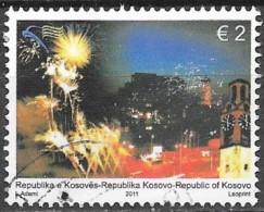 Kosovo - Anniversaire Indépendance - Y&T N° 76 - Oblitéré - Kosovo