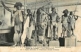 Ref G532-musee De L Armée - Salle Bougainville -explorateur -types Africains Et Polynesiens -groupe Oceanien  - - Ansichtskarten