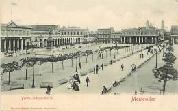 Ref G526- Uruguay - Montevideo - Plaza Independencia - Carte Bon Etat   - - Uruguay