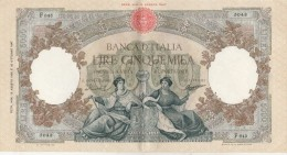 Italie Banca D´ Italia Billet 5000 Lires 13/8/1956 N° F 643 - 5043 Signé Menichella Et Boggione - Neuf Pli Central  ... - 5000 Lire